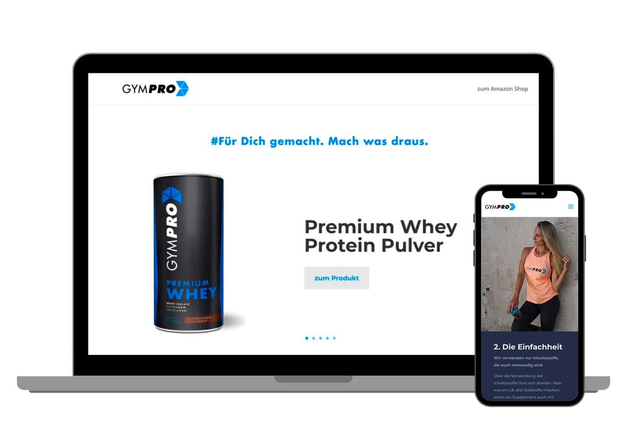 wwwald Gympro.eu Website